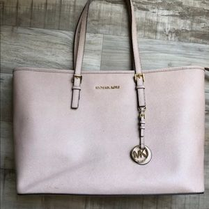 Michael Kors Tote Large Blush Pink